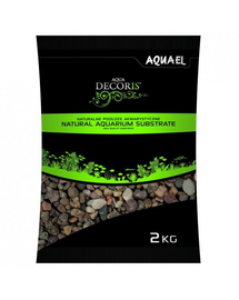 AQUAEL Pietriș natural multicolor 1,4-2 mm 2 kg