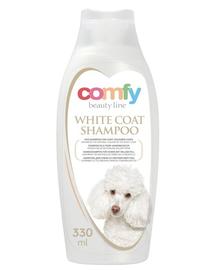 COMFY Șampon pentru câini cu blana albă 330 ml