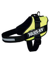 TRIXIE Ham Julius-K9, Size 1/L 63-85 cm galben neon