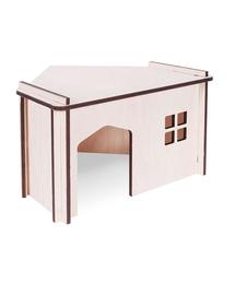 PET INN Căsuță din lemn demontabilă pentru colț 1