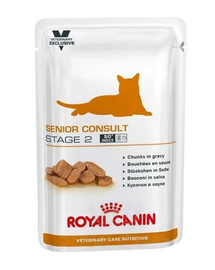 ROYAL CANIN Cat Senior Consult Stage 2 100 g x12