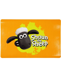 TRIXIE Covoraș suport pentru boluri Sheep Shaun, 44 × 28 cm