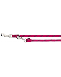 TRIXIE Lesă control Sports Rope S-M 2.00 M/O 8 mm, fucsia