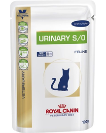 ROYAL CANIN Cat Urinary vită 12 x 100 g