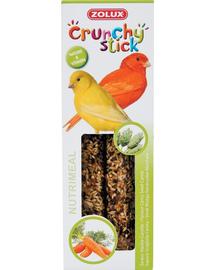 ZOLUX Crunchy Stick pentru canari Mozga Canarian / morcov 85 g
