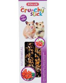 ZOLUX Crunchy Stick pentru hamster  -coacăze / măceșe 115 g