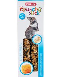 ZOLUX Crunchy Stick pentru iepure - ovăz / miere 115 g