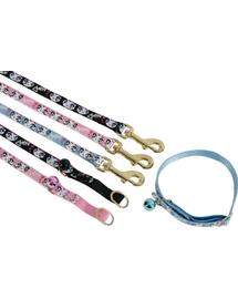 ZOLUX Lesă nailon pentru pisici Ladycat 1 M roz
