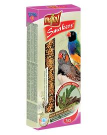 VITAPOL Smakers pentru cinteză zebrată și păsări exotice - ierburi cu alge