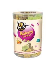 LOLO PETS Cookies pentru câini animăluțe legume 1 kg
