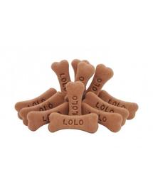 LOLO PETS Cookies pentru câini oase animăluțe ciocolată 3kg