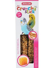ZOLUX Crunchy Stick pentru papagali mici - mei / miere 85 g