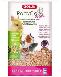 ZOLUX Așternut litieră iepuri și rozătoare Rodycob Fresh 5 L - mure-lychee
