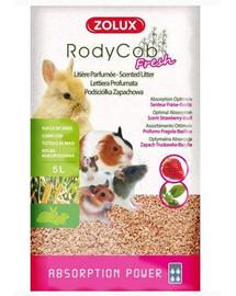 ZOLUX Așternut litieră iepuri și rozătoare Rodycob Fresh 5 L - căpșuni-busuioc