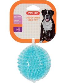 ZOLUX Jucărie tpr Pop minge cu bumbi 8 cm turcoaz