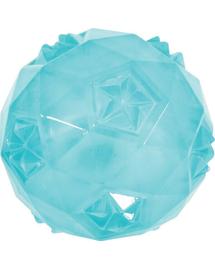 ZOLUX Jucărie tpr Pop minge 7.5 cm turcoaz