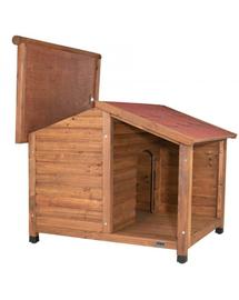 TRIXIE Cușcă pentru câini natur M-L 130×100×105 cm