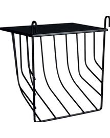 TRIXIE Ansamblu hrănire cu capac de metal 17 × 18 × 12 cm negru