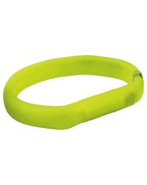 TRIXIE Guler cu beculețe USB XS-S 35 cm/17 mm, verde