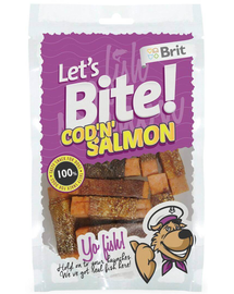 BRIT Lets Bite Cod & Salmon 80 g