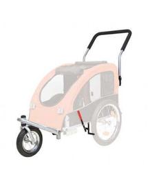 TRIXIE Set cărucior acoperit cu roți pentru jogging sau bicicletă 12816