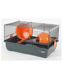 ZOLUX Cușcă Indoor 50 cm pentru șoarece double color gri / portocaliu