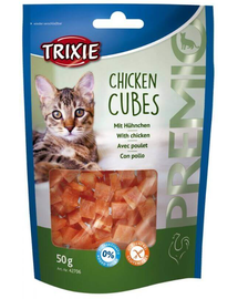 TRIXIE Recompense Premio cubes pui 50 g