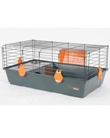 ZOLUX Cușcă Indoor 120 cm color gri / portocaliu