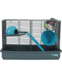 ZOLUX Cușcă Indoor 50 cm pentru șoarece double color gri / albastru