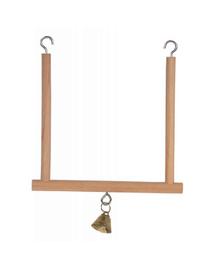 ZOLUX Leagăn din lemn cu clopoțel