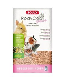 ZOLUX Așternut litieră iepuri și rozătoare Rodycob Nature 15 L