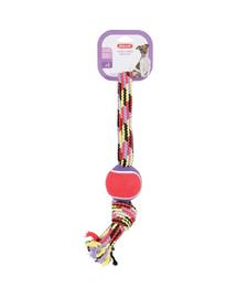ZOLUX Jucărie din sfoară cu minge de tenis în formă de 8 36 cm