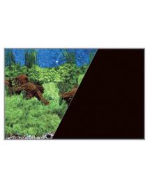 ZOLUX Fundal cu două fețe pentru acvariu 40 x 60 cm rădăcini / negru