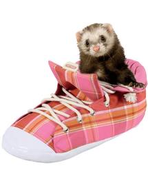 ZOLUX Pat în formă de pantof pentru dihori roz cadrilat