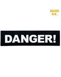 TRIXIE Sticker cu arici 2 Julius-K9, L, DANGER!