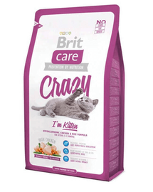 BRIT Care Cat Crazy Im Kitten 7 kg