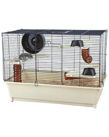 TRIXIE Cușcă pentru hamster 62x46x36 cm crem