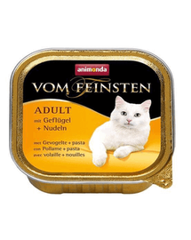 ANIMONDA Vom Feinsten Meniu Carne de Pasăre și Paste 100 g
