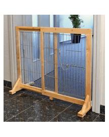 TRIXIE Gărduleț de protecție din lemn 61-103X75X40 cm