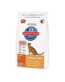 HILL'S Science Plan Feline Adult Optimal Care Lamb 5 kg