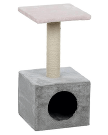 TRIXIE Ansamblu sisal cu culcuș Zamora 60cm roz / gri