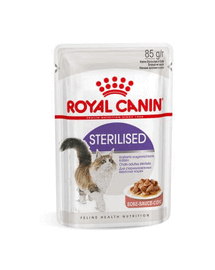 ROYAL CANIN Sterilised în sos 12 x 85 g