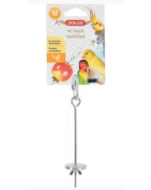 ZOLUX Hrănitor metal pentru suspendarea fructelor M