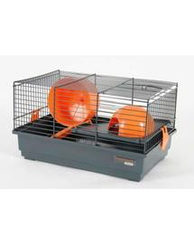 ZOLUX Cușcă Indoor 40 cm pentru hamster gri / portocaliu