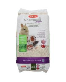 ZOLUX Așternut litieră iepuri și rozătoare Chambiose Fresh 30 L bujor/coacăze