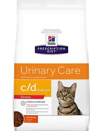 HILL'S Prescription Diet Feline c/d Multicare Urinary Stress 8 kg