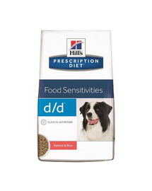 HILLS Prescription Diet Canine d/d Salmon & Rice 12 kg