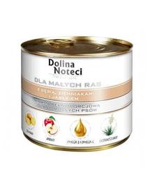 DOLINA NOTECI Premium small breeds cu gâscă, cartofi și măr 185 g
