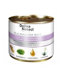 DOLINA NOTECI Premium small breeds cu iepure, fasole și orez brun 185 g