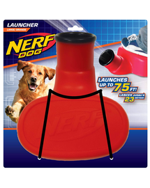 NERF Lansator de mingi roșu